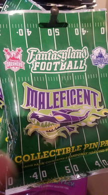 Fantasyland Football 5 pin mystery bag