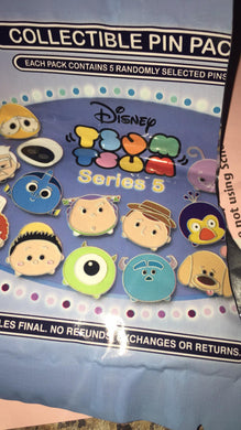 Pixar 5 pin mystery bag