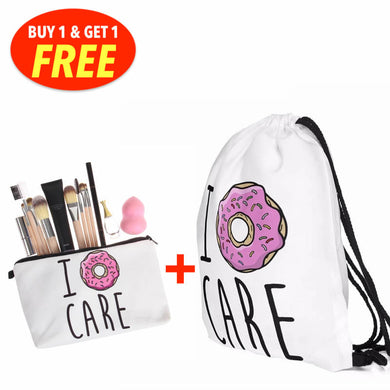 Nonchalant Drawstring bag with Multipurpose Case PROMO