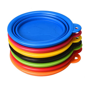 2X Collapsible Travel Bowl Feeder