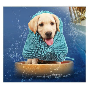Bath Mate Super Absorbent Pet Towel