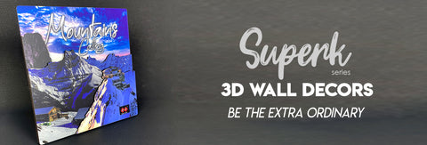 Wall Decors 3D Superk Series