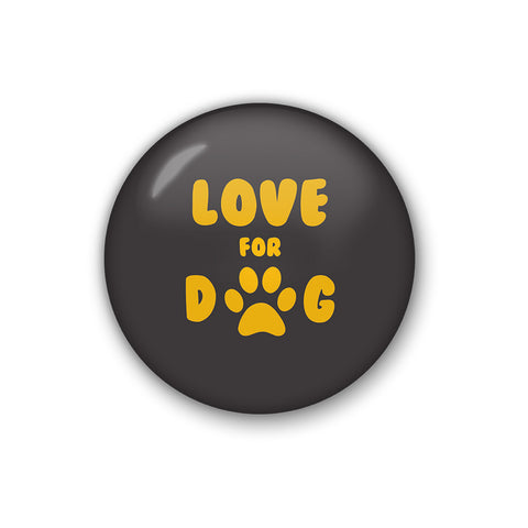 Love For Dog | Badge