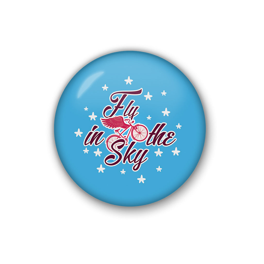 Fly In The Sky | Badge