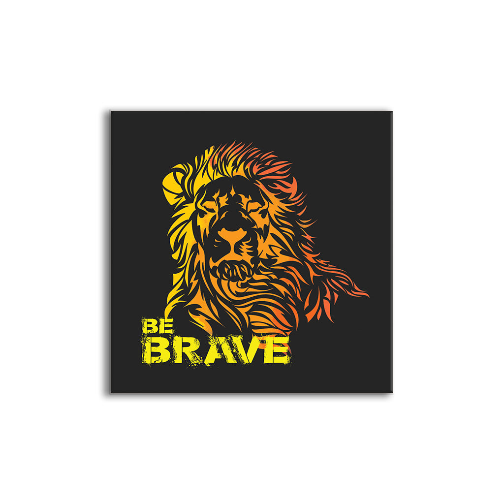 Be Brave | Seamless wall mount