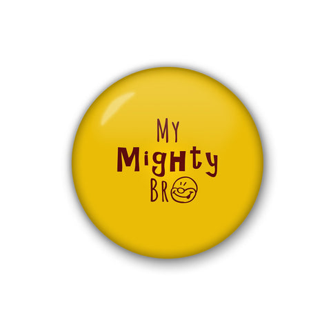 My Mighty Bro | Badge