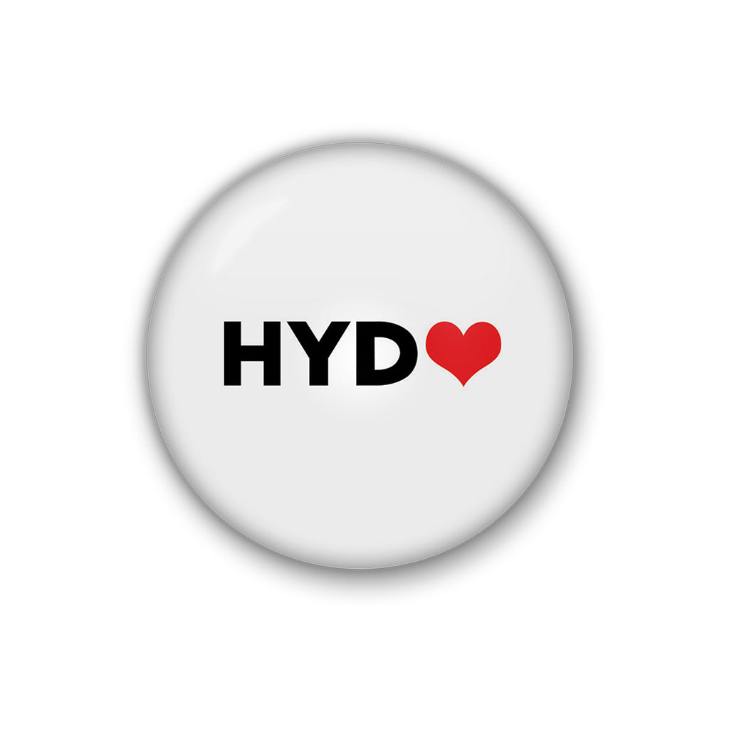Hyd love | Badge