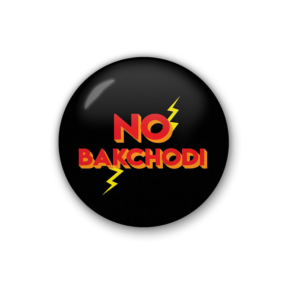 No Backchodi | Badge