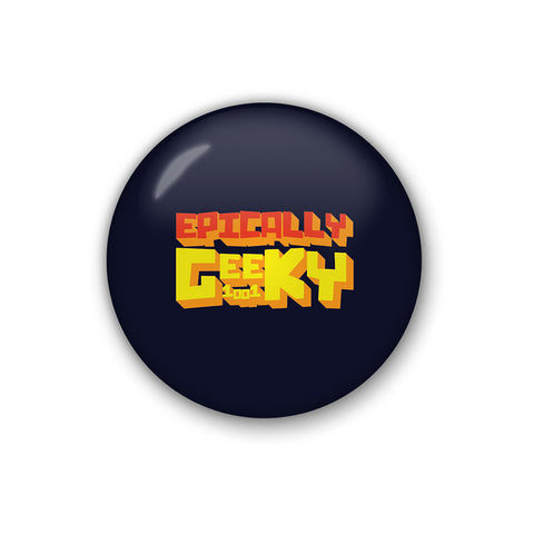 Epically Geeky | Badge