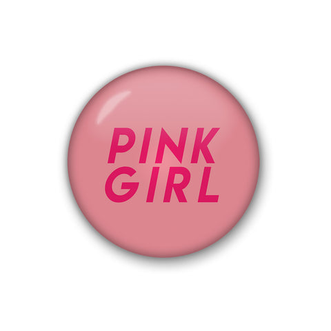 Pink Girl | Badge