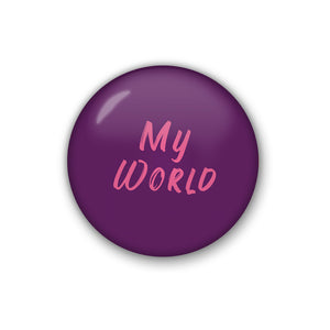 my world | Badge