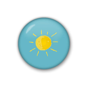 happy sun | Badge