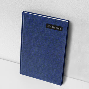 Blue Desire | Sleek Classic Hard Cover Note Book