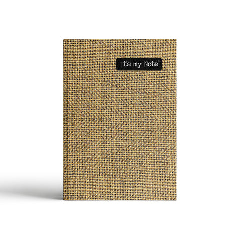 Jute Story | Sleek Classic Hard Cover Note Book