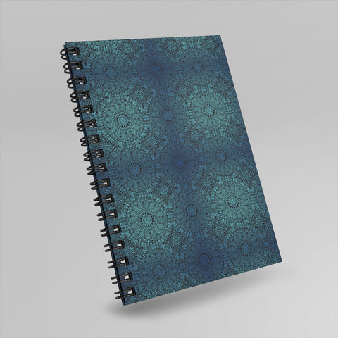 Ethnic Blue | Hard Cover Wiro Note Book