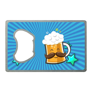 Happy Beer | Card Bottle Opener