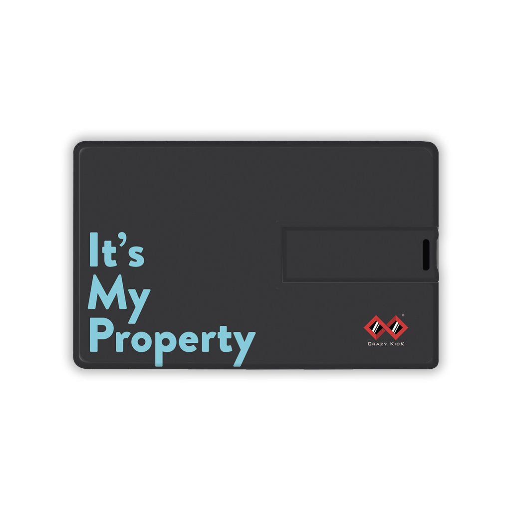 It's My Property | Card Pendrive