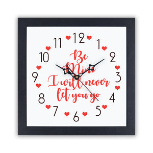 Be mine | Wall Clock