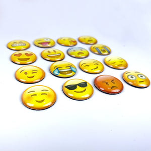 Emoticons - Set of 16 | Fridge Magnets