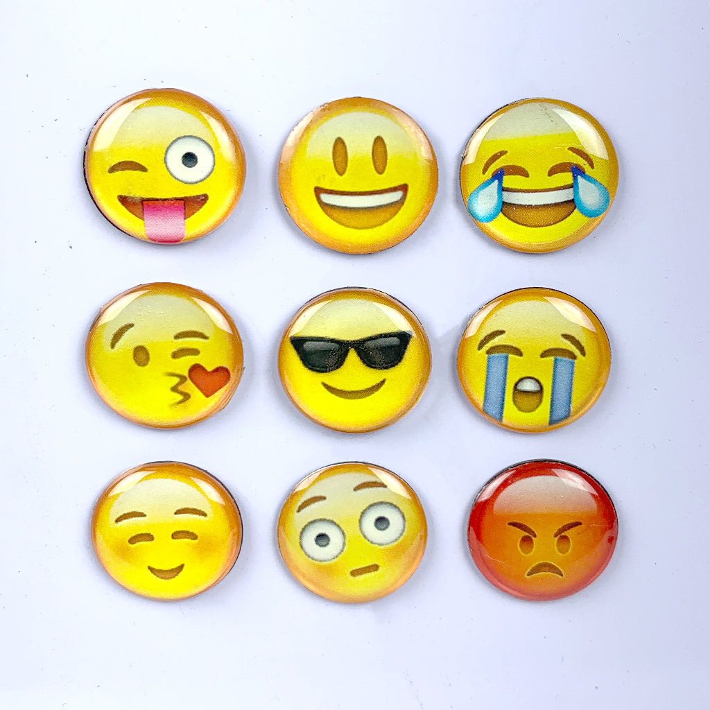Emoticons - Set of 9 | Fridge Magnets