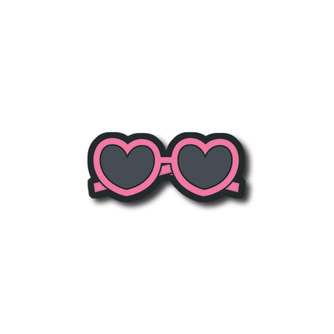 Heart Goggles | Trendy Fridge Magnet