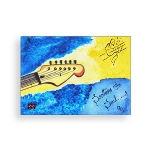 Strings of Guitar | Art Canvas Wall Decor | Artist Shravya