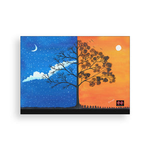 Between Winter & Spring | Art Canvas Wall Decor | Artist Dhirupa