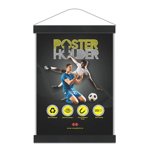 Midnight Black | Magnetic Poster Holder