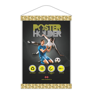 Floro Pale Yellow  | Magnetic Poster Holder