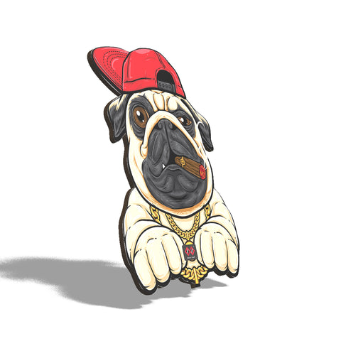 PUG LIFE | Wall Decor
