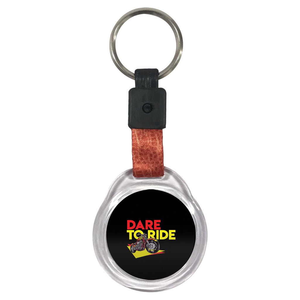 Dare to Ride | Crystal Key Chain