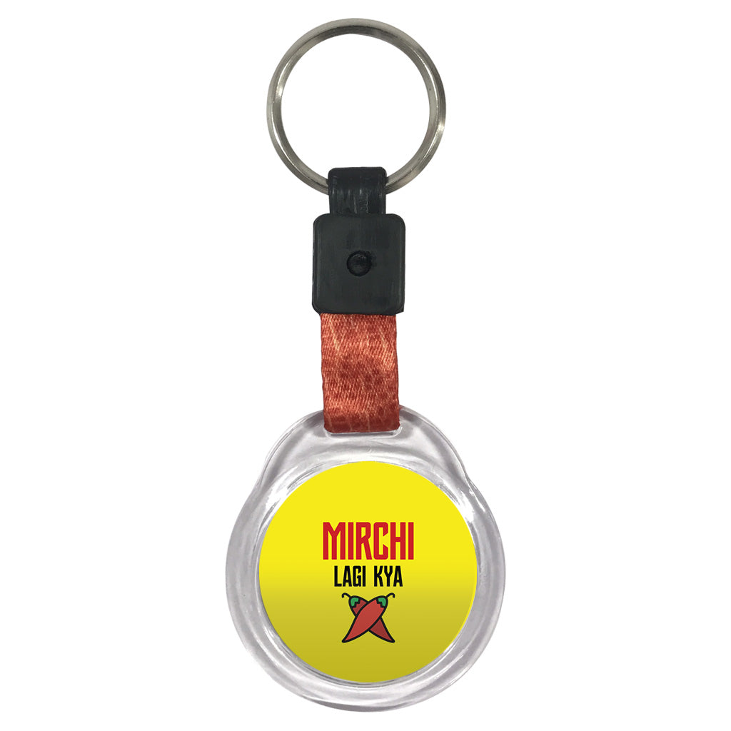 Mirch Lagi Kya | Crystal Key Chain