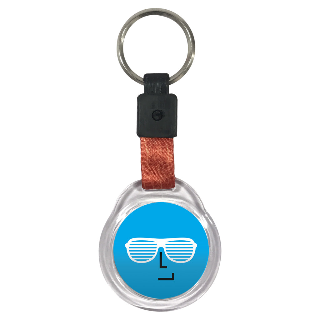 Cool | Crystal Key Chain