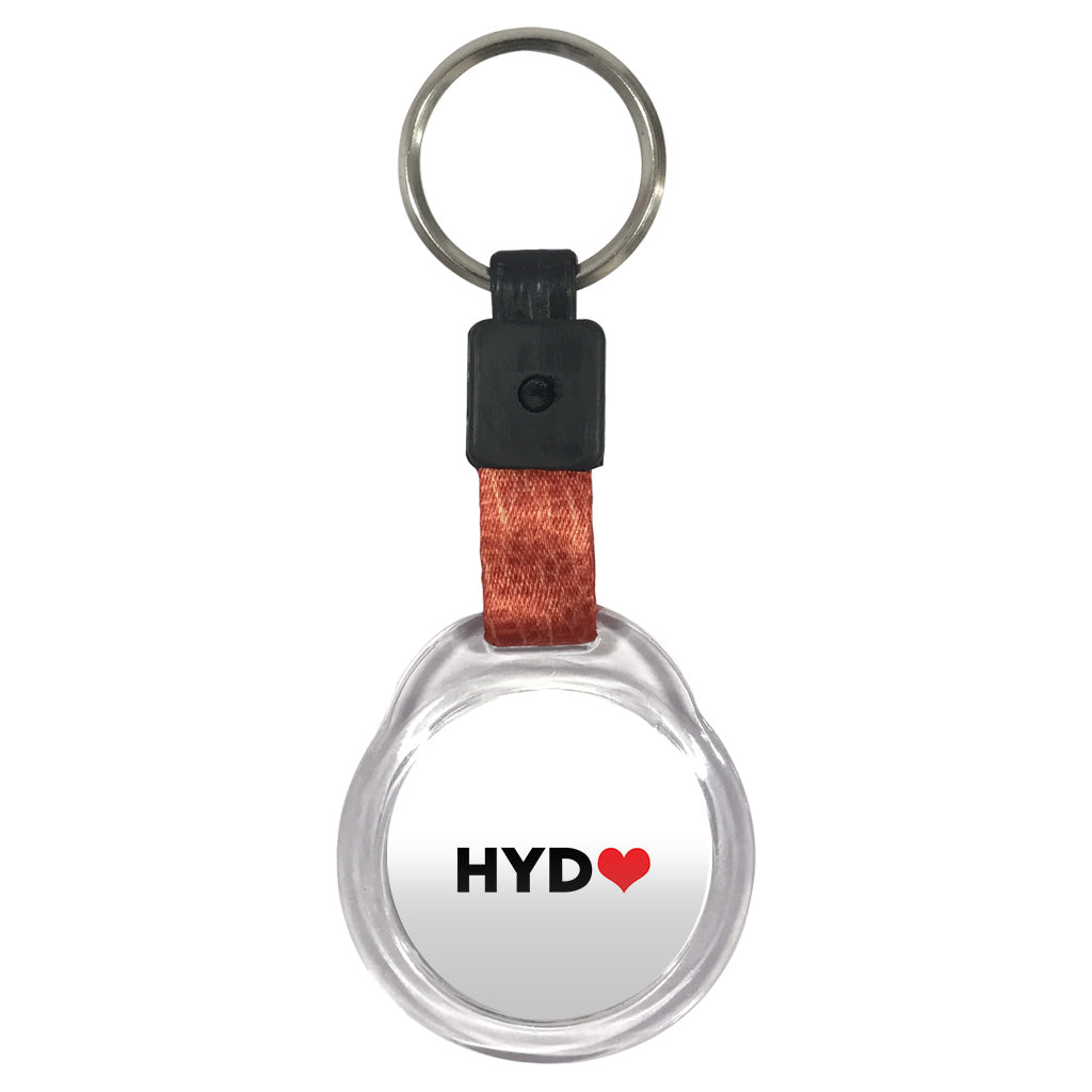Love HYD | Crystal Key Chain