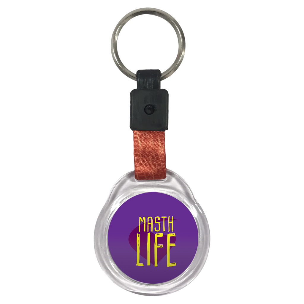 Math Life | Crystal Key Chains