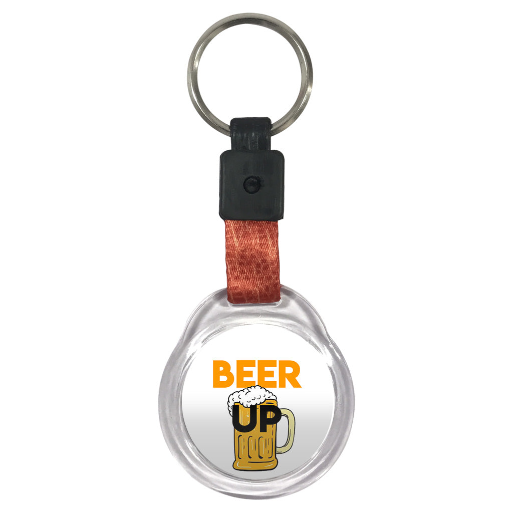 Beer Up | Crystal Key Chain