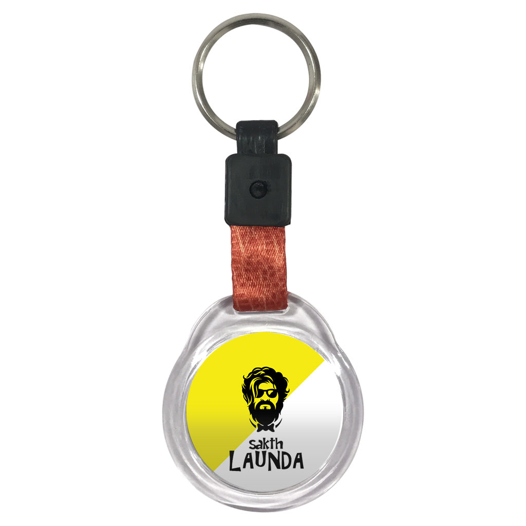 Sakth Launda | Crystal Key Chain