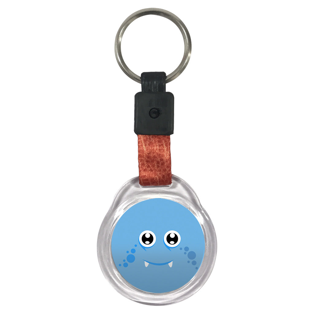 Blue Monster I | Crystal Key Chain