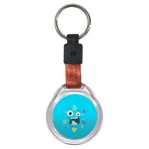 Blue Monster II | Crystal Key Chain