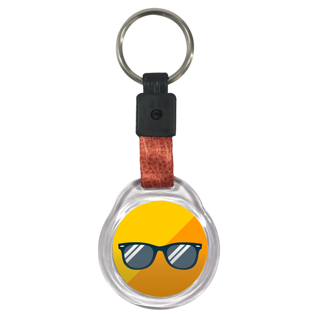 Shades | Crystal Key Chain
