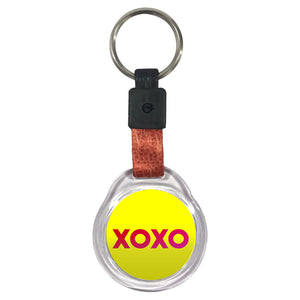 xoxo | Crystal Key Chains