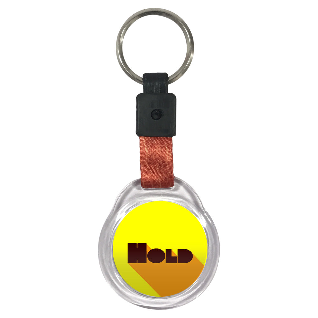 Hold | Crystal Key Chain