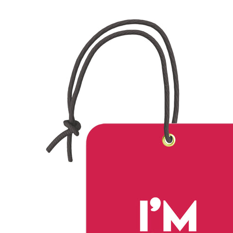 I'm On Move | Trendy Trendy Luggage Tag