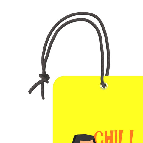 Chill Time | Trendy Luggage Tag