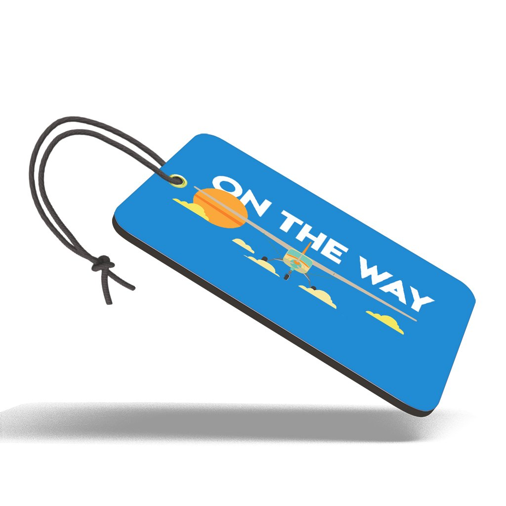 On The Way | Trendy Luggage Tag