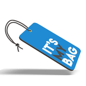 It's My Bag Blue | Trendy Luggage Tag
