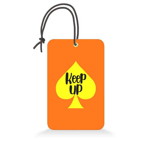 Keep Up | Trendy Luggage Tag