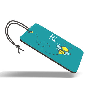 Hi Bee | Trendy Luggage Tag