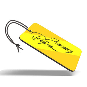 Journey Begins | Trendy Luggage Tag