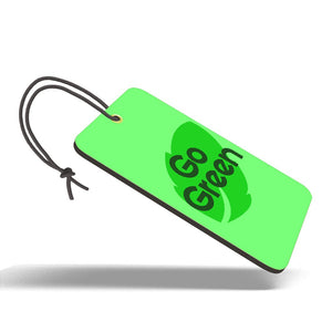 Go Green | Trendy Luggage Tag